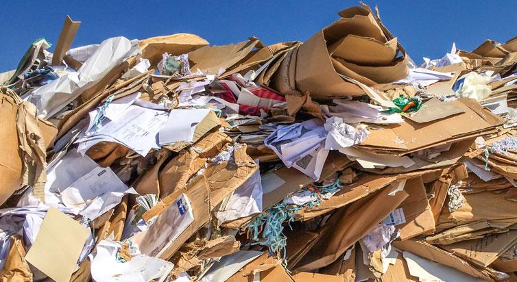 Altpapier entsorgen in Hamburg