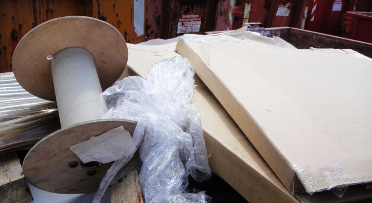 Container für Gewerbeabfall